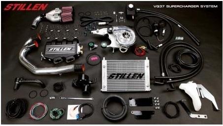 STILLEN VQ37 Supercharger Kit for the Nissan 370Z